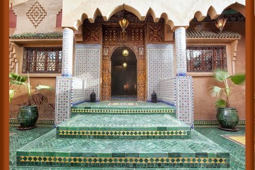 Hotel Riad Ouarzazate in Morocco.